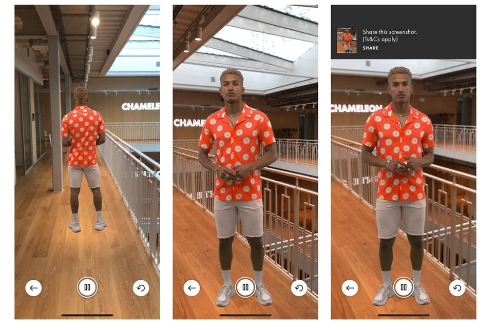 ASOS Virtual Catwalk recreating offline shopping experiences online