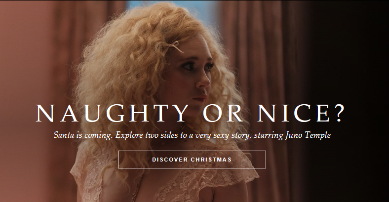 Agent Provocateur Christmas ad