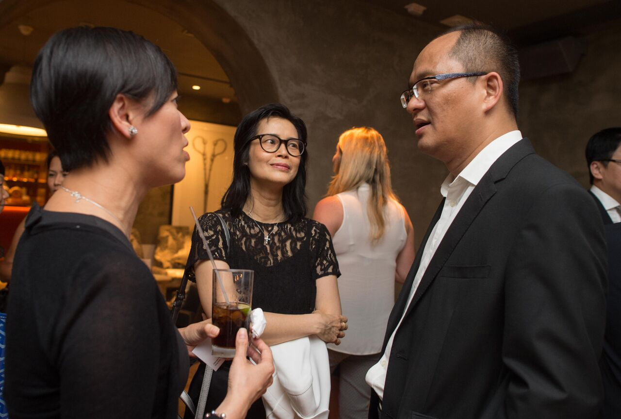 Practicology's launch party in Hong Kong