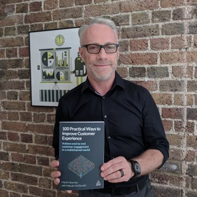 Martin Newman's book on customer centricity published