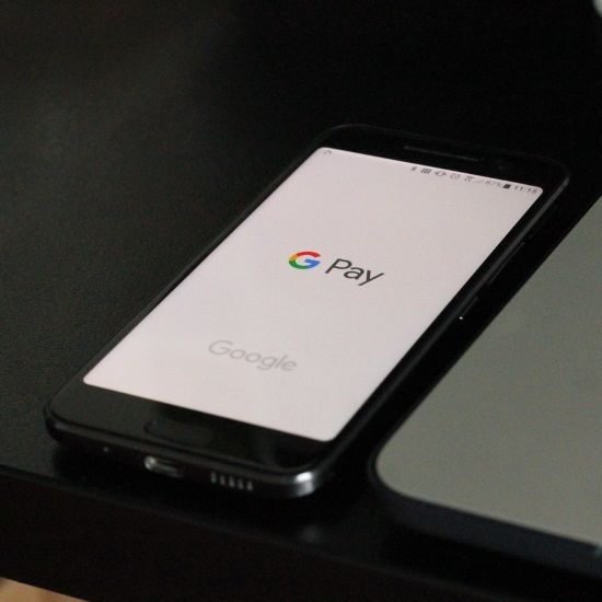Upcoming online payment trends - Google Pay on mobile