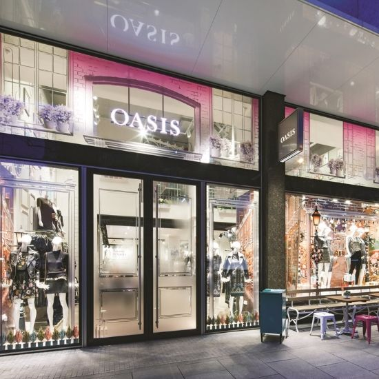 Oasis flagship store makeover – a mystery shopper's view