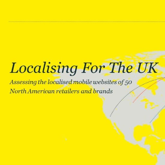 Localising for the UK - localisation report