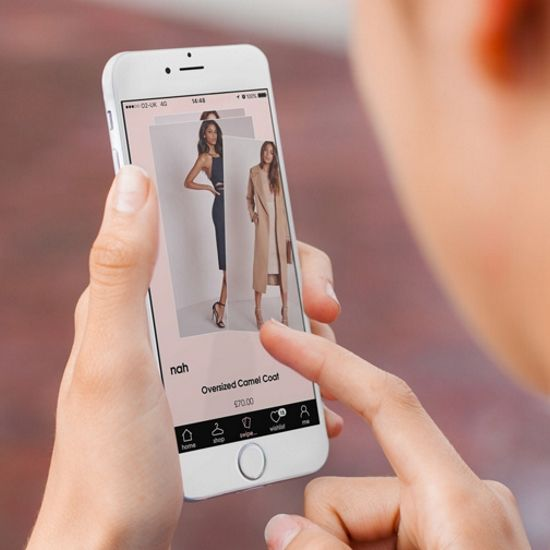 Missguided's Swipe to Hype retail app
